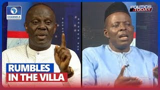 APC, PDP Face-off Over Ongoing Rumbles In The Pres'l Villa