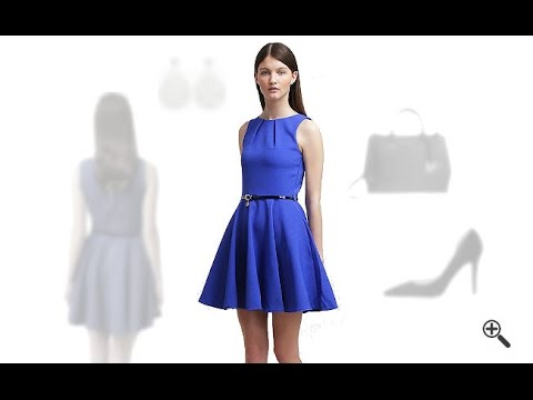blaues cocktailkleid in kurz kombinieren 3 blaue outfits f r helen youtube. Black Bedroom Furniture Sets. Home Design Ideas