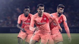 FC Barcelona new third kit 2018/2019