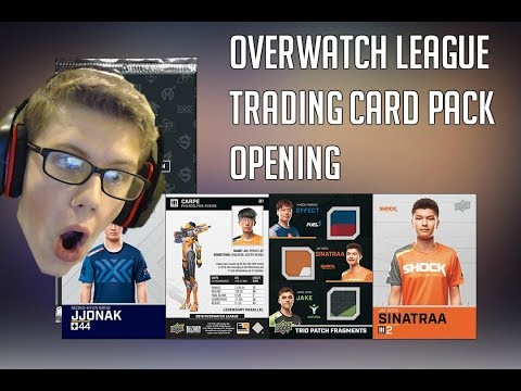 Overwatch League Trading Cards Now Available | Player One