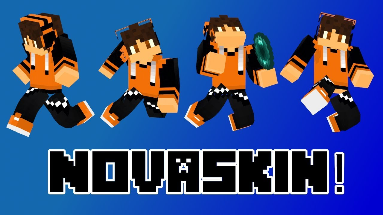 How To Easily Make Thumbnails With Your Own Minecraft Skin Using Novaskin Youtube