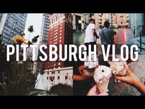 VLOG: adventure through pittsburgh