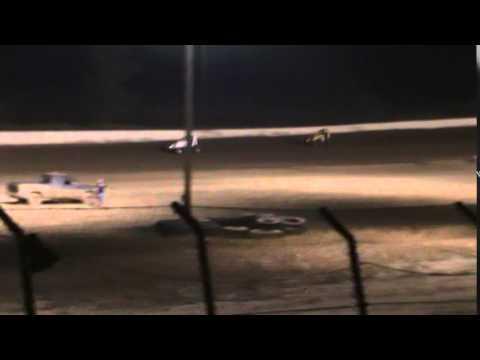 Matt Humphrey- Heat Race at Clay County Speedway 9-20-14