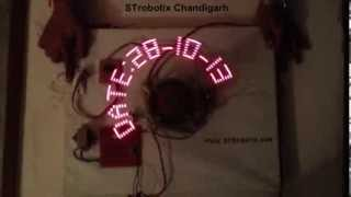 Propeller Clock Construction ,assembly ,programming And Pcb Making