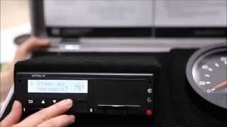 Видеоинструкция для водителей: ручной ввод данных в тахограф