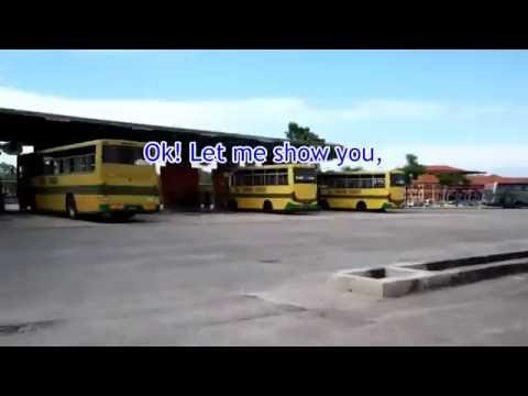 How To Get From Mersing Terminal Bus Stop To Jetty Stop