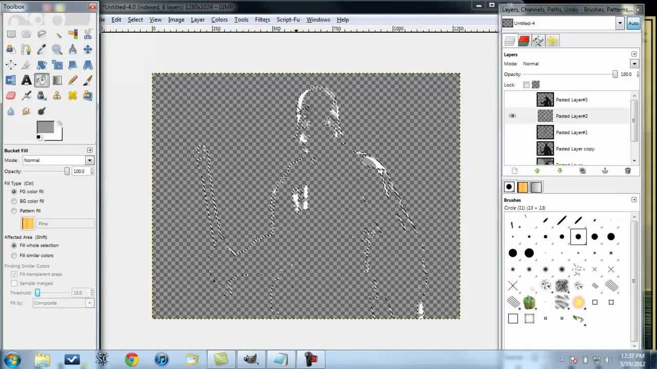 How to Make a Beautiful Multi-Layered Stencil Design in Less Than 10 Minutes