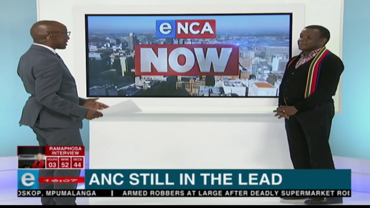 The African National Congress seems to be in the lead in the build-up to the 2019 South African elections: IPSOS