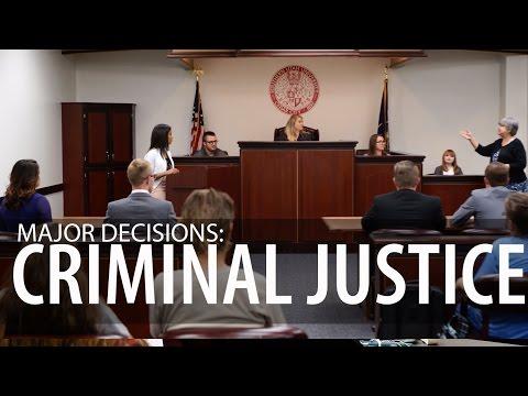 Major Decisions: Criminal Justice