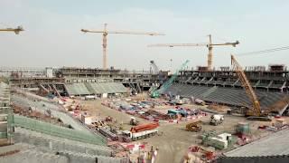 Qatar show progress of stadiums ahead 2022 FIFA World Cup