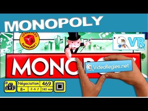 """Vidéorègle Jeu de Société """"Monopoly""""+ (règles dé rapide) par Yahndrev (#469)"""
