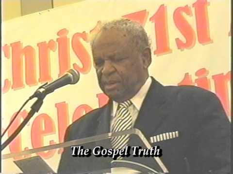 The Gospel Truth:  Dr. Jack Evans  3-22-2016