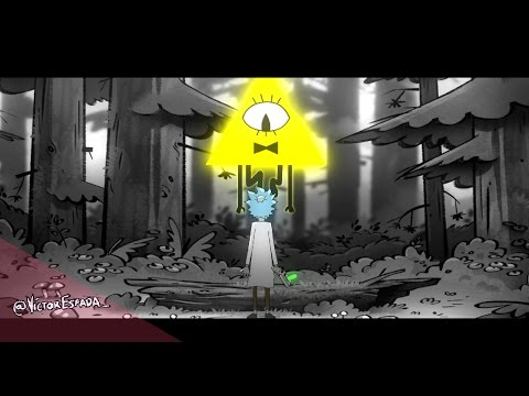 Rick and Morty // Gravity falls [MASHUP INTRO THEME]