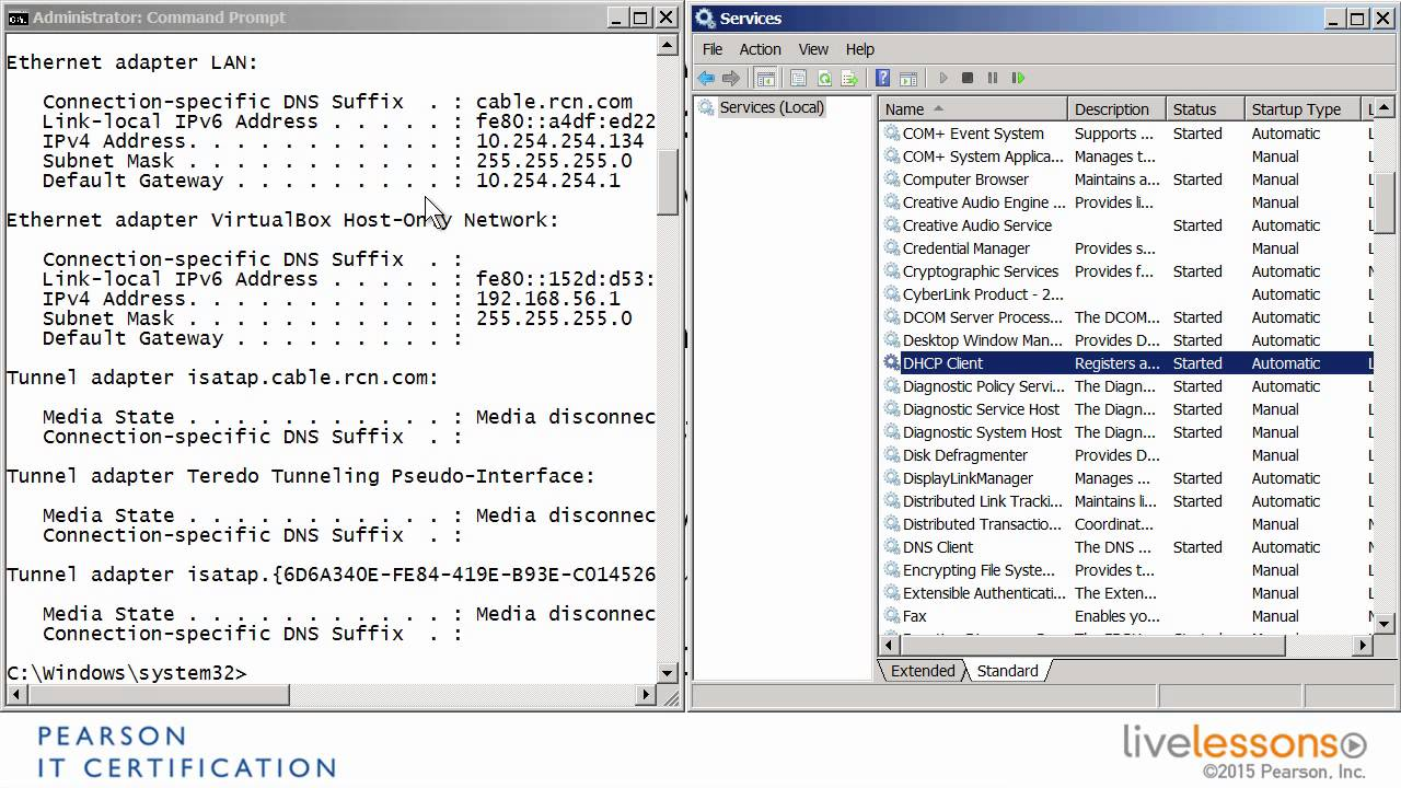 Troubleshooting a Windows service with services msc