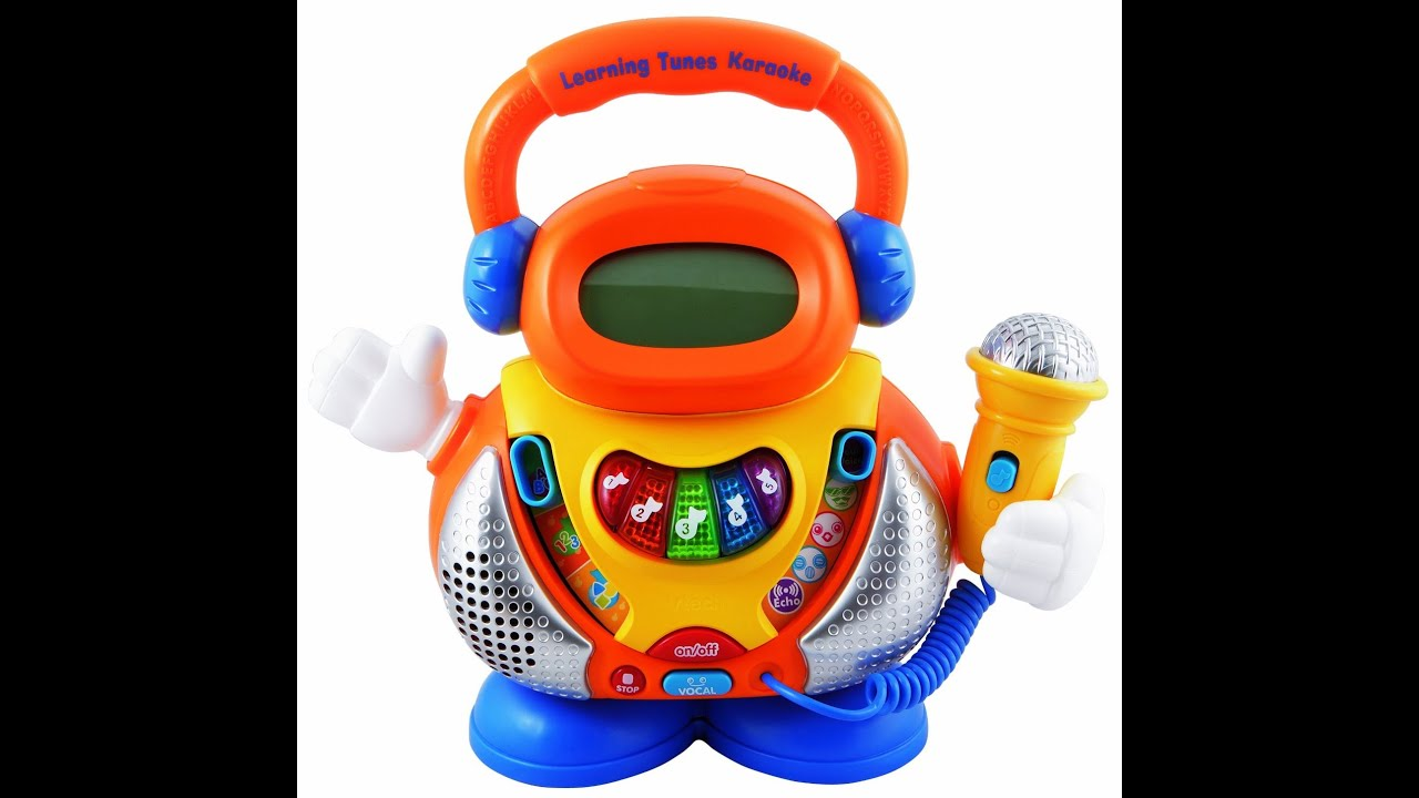Review VTech Learning Tunes Karaoke