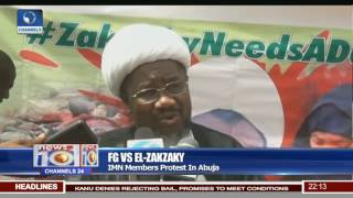 FG Vs El-Zakzaky: IMN Members Protest In Abuja