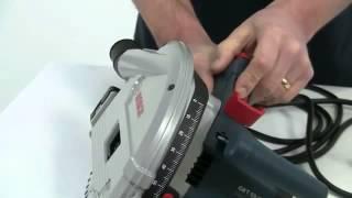 Test Bosch scie circulaire plongeante GKT55 GCE - Guedo outillage