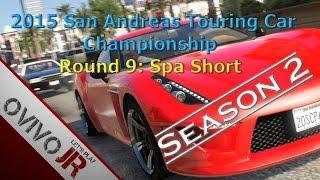 GTA V San Andreas Touring Car Championship Season 2 - Spa-Francorchamps Short [HD]