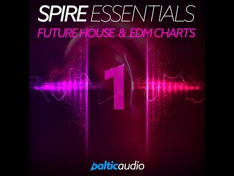 Spire Essential Vol 1: Future House & EDM Charts (64 Spire presets, 50 MIDI files)