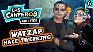 ⭐️¡WATZAP hace twerking!⭐️ - Los Camperos #6