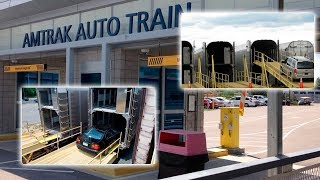 How cars are transported in closed wagons | Auto Train