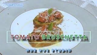 Tomato Bruschetta  [RECIPE] 간편한 부르스게타 만들기