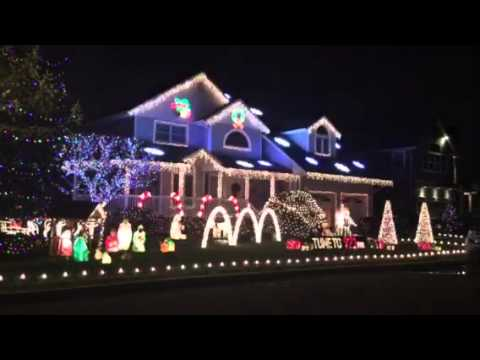 Christmas house lights farmingdale NY & Christmas house lights farmingdale NY - YouTube azcodes.com