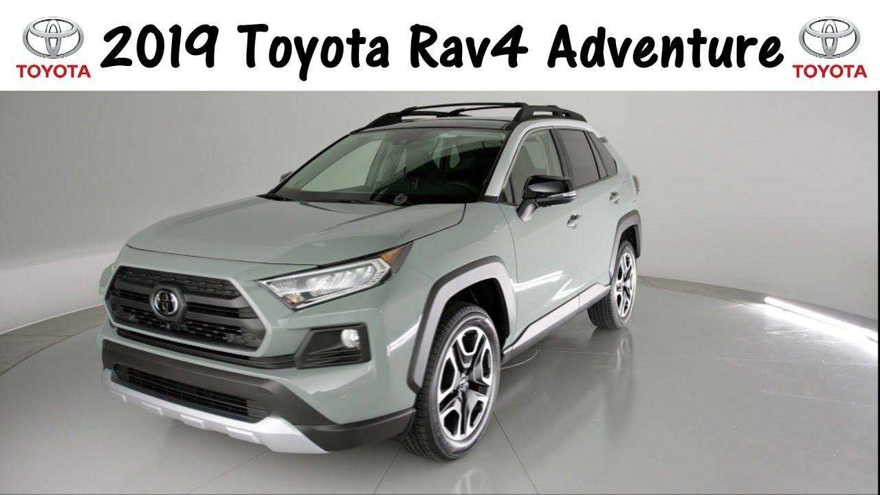 New 2019 Toyota Rav4 Adventure Grade Exterior And Interior