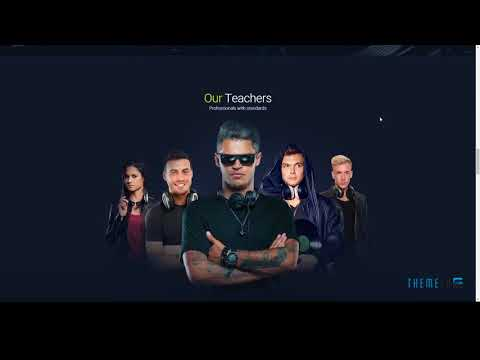 DJBeats - DJ Courses / Scratch DJ School / Music Academy Responsive M