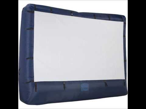Gemmy Airblown® 39121X Movie Screen 12 ft  Screen wStorage Bag