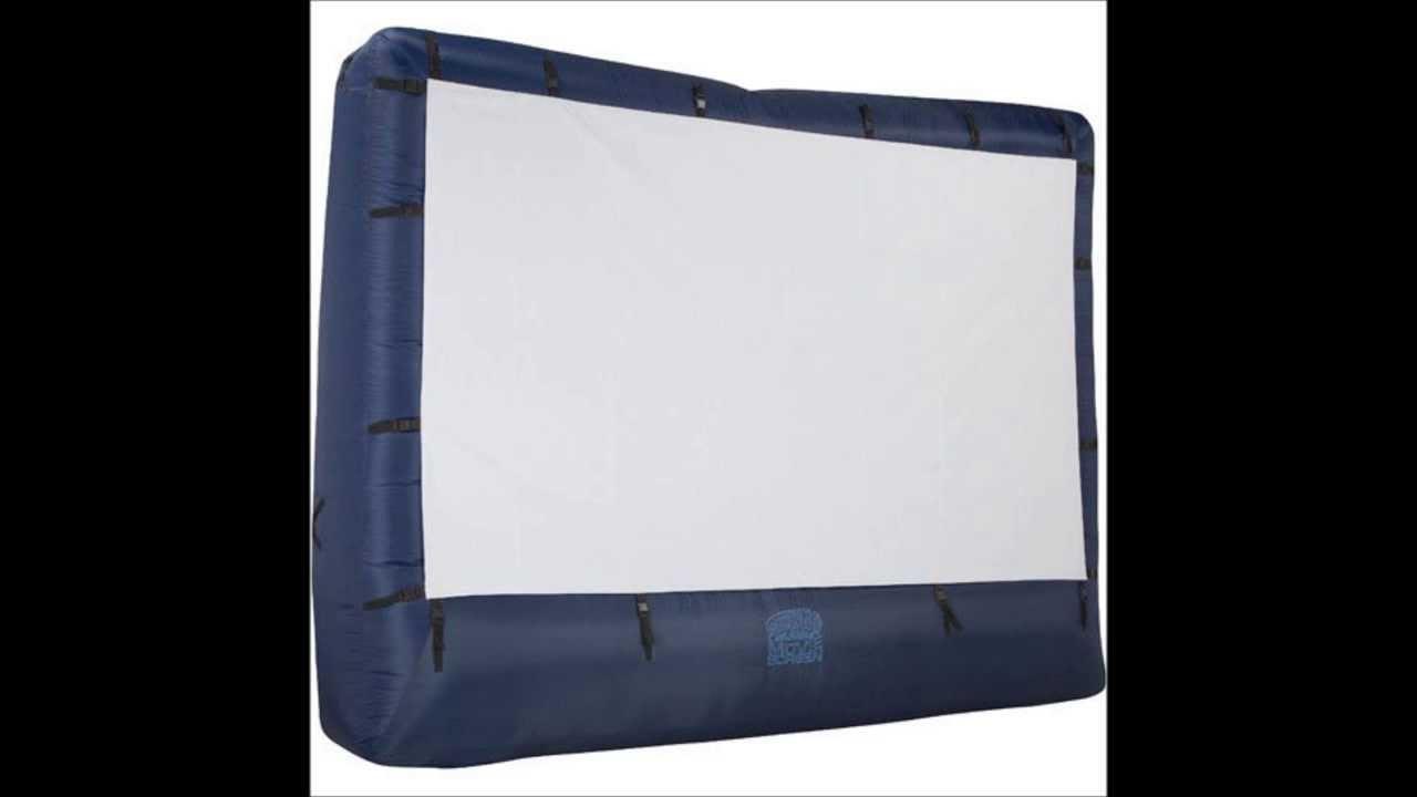 gemmy airblown 39121x movie screen 12 ft screen wstorage bag