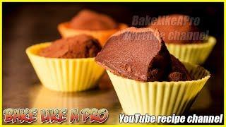 SUPER EASY Dark Chocolate Truffles Recipe