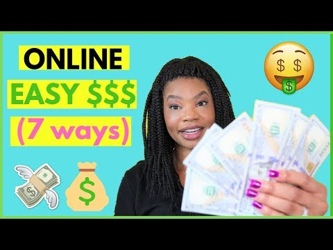 7 EASY Ways to Make Money at Home 2019  | Online, Remote Work-At-Home Jobs 2019
