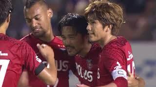 2018年7月28日(土)に行われた明治安田生命J1リーグ 第18節 広島vs浦...