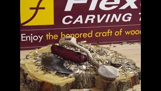 Carving a Simple Love Spoon with the FlexCut Tools Spoon Carvin' Jack