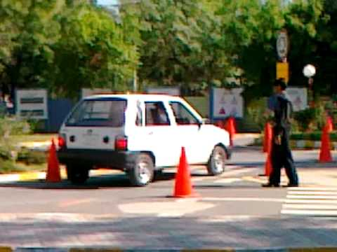 Awais's Driving Test at ITP