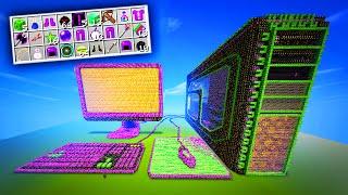 MEGA LUCKY BLOCKS GAMING PC BATTLE!