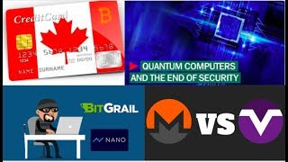 Crypto News #5 | BITGRAIL VS NANO, Quantum Computer threat to BLOCKCHAIN.