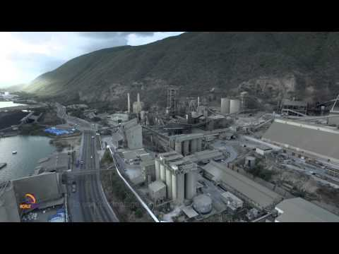 Carib Cement Aerial View Kingston jamaica
