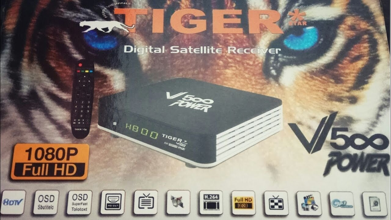 Activation DRAGON CAM et ATLAS IPTV sur TIGER V500 POWER. - YouTube