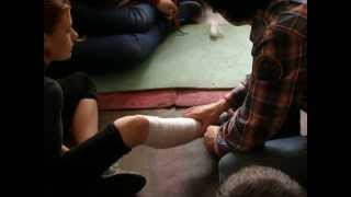 Медицина. Повязка на ногу(Семинар