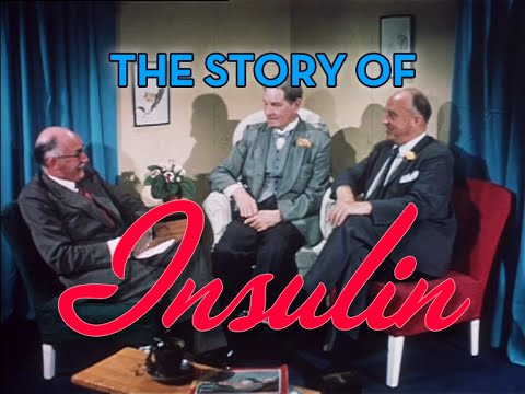 The Story of Insulin: Dr. Charles Best Discusses his Diabetes Discovery (London, UK 1959)