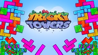WE GOT A NOOB! - Tricky Towers with The Crew!