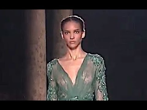[VIDEO] - ELIE SAAB Fall 2012 2013 Paris Haute Couture - Fashion Channel 5