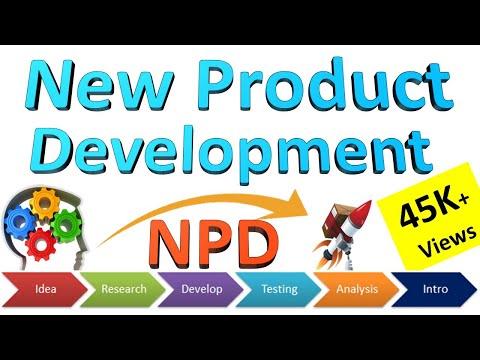 New Product Development Process [ NPD ] From Idea To Launch | Stages Of New Product Development #NPD
