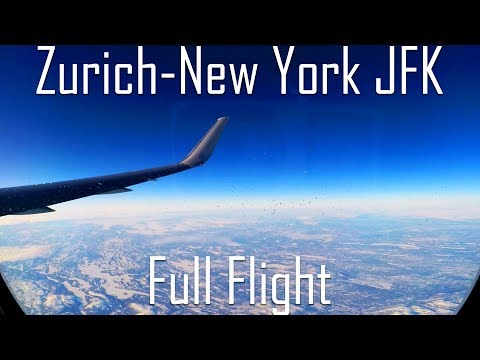 FULL FLIGHT | Zurich To New York JFK | B767-300ER | American Airlines | AA65