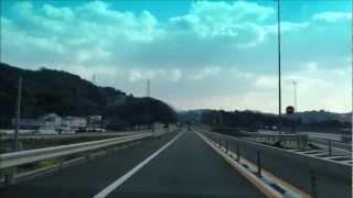 【HD】西九州自動車道 二丈鹿家IC→唐津千々賀山田IC 走行動画