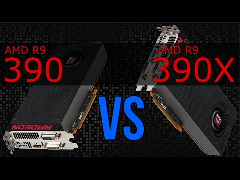 [DEUTSCH] AMD R9 390 vs R9 390X