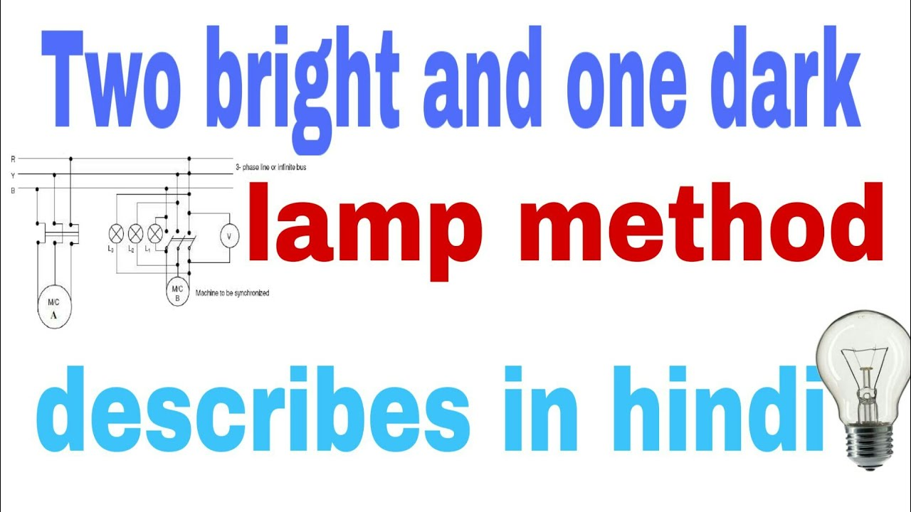 Two Bright And One Dark Lamp Method In Hindi Youtube