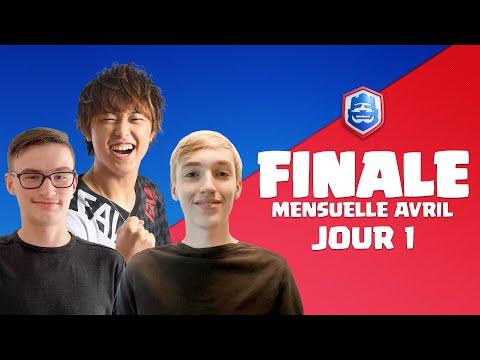Clash Royale League 2021 : Finale d'Avril | Jour 1 ! (Français)
